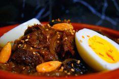 Tajine de Carne (Carrillera) con Ciruelas Pasa (Plato marroqui)