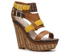 afd5f7a75253 Mia Frida Wedge Sandal Women s Wedge Sandals Sandals Women s Shoes - DSW Women s  Shoes Sandals