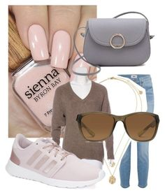 """Spring"" by michaela-markova on Polyvore featuring Paige Denim, T By Alexander Wang, adidas and NIKE"