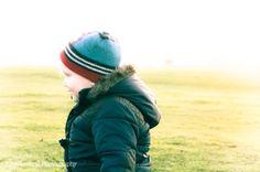 Winter sun, winter hat