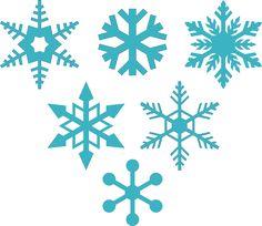 DIGITAL ART by Daniela Angelova: 6 free snowflakes