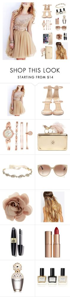 """Untitled #775"" by m-gorodetskaya ❤ liked on Polyvore featuring Giuseppe Zanotti, Anne Klein, Alexander McQueen, Marchesa, Tom Ford, Accessorize, Johnny Loves Rosie, Max Factor, Charlotte Tilbury and Marc Jacobs"