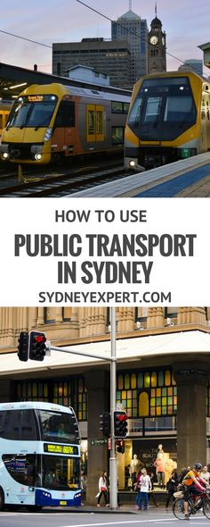 Learning how to use public transport  and the Opal card while you are in Sydney will save you time and money.
