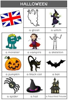 halloween, anglais, sorcière, CP, CE1, CE2, CM1, CM2, école, classe, poèmes, chanson, vocabulaire English Teaching Materials, Teaching English, Teaching French, Halloween Prints, Halloween Ghosts, Couples Halloween, Bear Halloween, Halloween Christmas, English Lessons