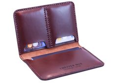 Chester Mox passport cover with card slots.  Fantastic craftsmanship and well designed.