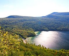 Vermont's Northeast Kingdom: Bucolic Beauty and Outdoor Adventure View of Lake Willougby from Mount Pisgah.