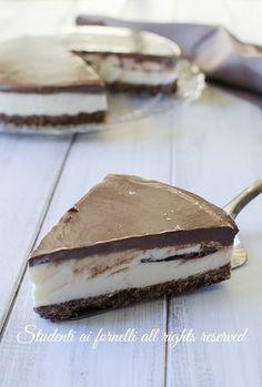 ricetta torta fredda pingui senza cottura cioccolato e mascarpone ricetta estiva kinder pingui