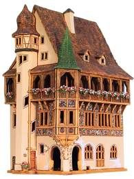 http://media-cache-ak0.pinimg.com/originals/7c/f7/37/7cf737a6f667a1ce9f3837c292f1b795.jpg Fairy Houses, Play Houses, Doll Houses, Mini Houses, Miniature Rooms, Miniature Houses, Vintage Dolls, Antique Dolls, Casa Linda