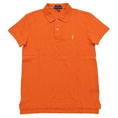 Polo Ralph Lauren Women's Classic Fit Mesh Polo Shirt (X-Small, Orange) - http://www.darrenblogs.com/2017/01/polo-ralph-lauren-womens-classic-fit-mesh-polo-shirt-x-small-orange/