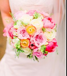 Pink Pastel Garden Bouquet by Fairynuff Flowers Bridal Bouquet Pink, Wedding Bouquets, Spring Wedding Flowers, Wedding Colors, Elegant Bride, Elegant Wedding, Purple Flower Arrangements, Wedding Table Linens, Wedding Nails For Bride