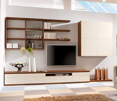 Stylish Modern Wall Units For Effective Storage