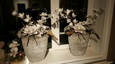 Foam bloemen made by Jamilla en Remko