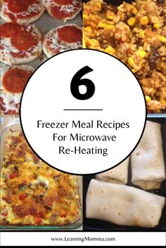 These homemade freezer meals are all cooked before freezing for microwave reheating in individual portions. Cook in bulk and make freezer meals for a month! Microwave Freezer Meals, Individual Freezer Meals, Freezer Friendly Meals, Make Ahead Freezer Meals, Microwave Recipes, Freezer Cooking, No Cook Meals, Easy Meals, Easy Recipes