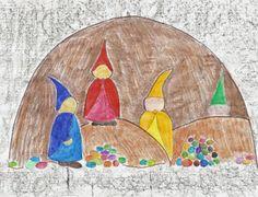 Waldorf ~ 1st grade ~ Math ~ Math Gnomes ~ main lesson book