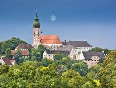 Kloster Andechs - anyone who visits Bavaria should go to this monastery for beer and mass!