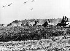 The battle of Kursk.1943 Prohorovka-July 12,
