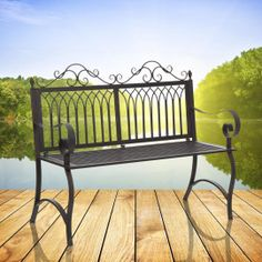 Cast Iron Bench Chair Our Price: $99.95