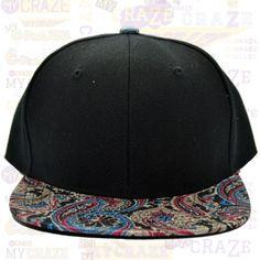 TopCul Urban Paisley Floral Hip Hop Rap Streetwear Street Wear Snapback Hat Cap – MyCraze #TopCul #Streetwear #HipHop #Floral #Snapback #Cap