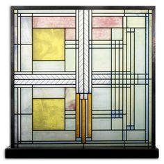 Frank Lloyd Wright Willits House Skylight Glass Panel