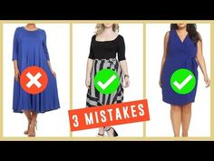 e508f88fce 3 Big Fashion Mistakes | How To Hide Belly Fat & Clothes To Hide Tummy -
