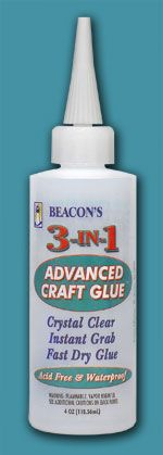 This is the best glue...I use it on mini-albums for scrapbooking and on many do it myself projects.  Sets up fast and holds!
