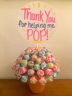 Thank you for helping me pop! Gift for labor and delivery nurses Labor Nurse Gift, Delivery Nurse Gifts, Nurse Gift Baskets, Craft Gifts, Diy Gifts, Thank You Nurse Gifts, Thank You Baskets, Midwife Gift, Nurse Appreciation Gifts