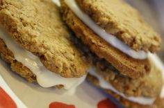 Oatmeal Cream Pie Cookies by Peas and Thank Youhttp://www.bonappetit.com/recipes/2011/08/homemade-marshmallow-creme