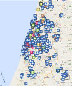 Map of Tech in Israel