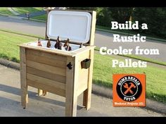 How to build a rustic cooler from FREE pallet wood: perhaps my coolest project yet!!!! – Home Repair Tutor