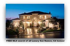 FREE MLS search of all Luxury San Ramon, CA homes!