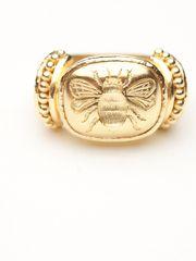 #TaigainHoliday  Elizabeth Locke Bee Ring by Elizabeth Locke from Amanda Pinson Jewelry