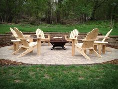 It's firepit season. Gather your friends and family around the glow of a fire while sitting in comfort.