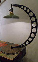 Modern, vintage repurposed light from Man_of_Steel Flickr