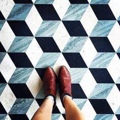 BIOS Monthly 地上風景,Instagram上的瓷磚圖樣蒐集