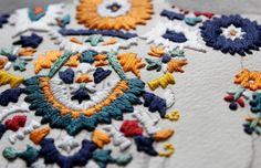 Izzyana Suhaimi - Embroidered memories - Bird & Prey