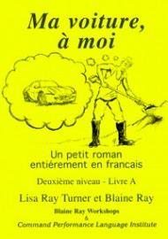 2A Ma voiture à moi - Franstalig vlot leesbaar leesboekje bij ERK niveau A2
