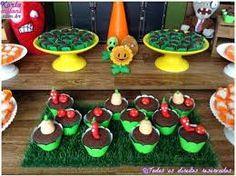 Resultado de imagen de fiesta tematica de plants vs zombies