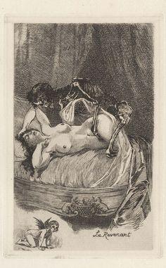 Martin Van Maële (French, 1863 – 1926), from Les Fluer du Mal.