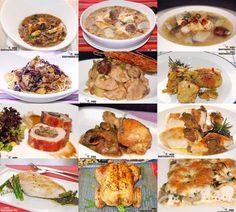 Doce recetas con pollo y setas