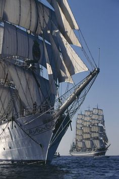A tall ship and a star to steer her by!