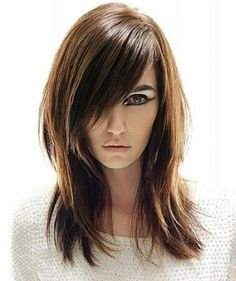 Love these Bangs                                Follow The 2014 Hair Trends And Cut Your Own Bangs