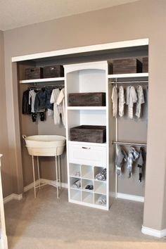 Elegant Nursery Closet, Baby Boy Room