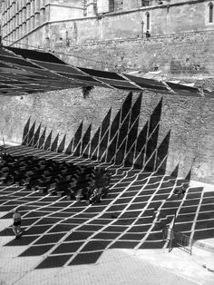Urban shade screen Elias Torres.  Jacob Gines: Intimations: Light + Shadow in Architecture