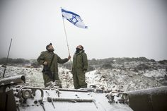 #FriendsOfTheIDF(FIDF) 🇮🇱  ... As the temperature in the northern region drops and snow covers the ground, the soldiers of the Golani Brigade keep their heads up as they continue protecting Israel's borders.