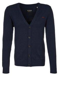 PANTHER - Cardigan - blu 50 euros , saldo 33 euros