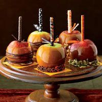 Fancy Caramel Apples  Reprinted with permission of Hearst Communications, Inc.  From: countryliving.com