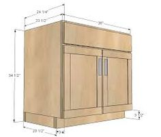 """If you were wondering which is the standard height of a regular bathroom vanity cabinet, that would be 32"""", although the range can be anywhere from 30"""" to 36"""" or so. Nowadays, the modern units are taller, and they are named comfort height vanities. Another thing to note here is that vanities can end up coming with a multitude of height options. You need to think about the vessel sink height, comfort height, and then you also have the standard height. Most of the time you will see that there…"""