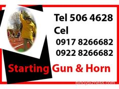 Starting Gun & Horn Event Rental Services Manila Philippines Manila - Buy and Sell Philippines