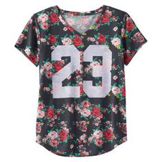 Mudd® V-neck Graphic Tee - Girls 6-16 & Girls' Plus