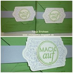 Kleine Schachtel mit dem Punchboard von Stampin Up